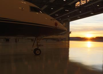 A MRO line station opens at FBO RIGA Business Aviation Center