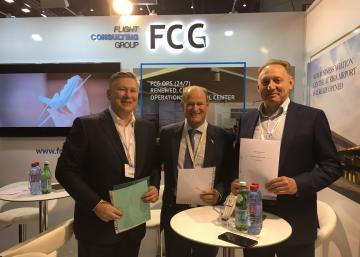 Flight Consulting Group Signed a Number of Key Contracts During EBACE