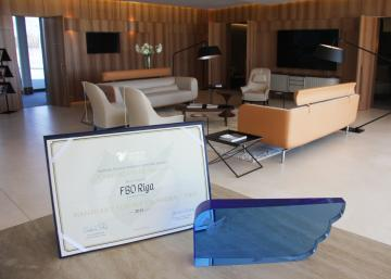FBO RIGA – Holder of Sapphire Pegasus Award in Handler / Service Provider / FBO Nomination as the Best FBO in Europe